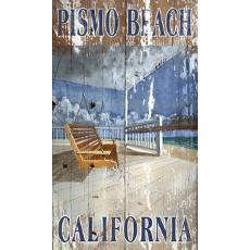 Beach Swing Wall Art Personalized