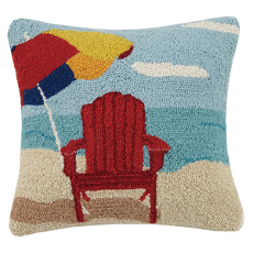 Beach Umbrella Hook Pillow