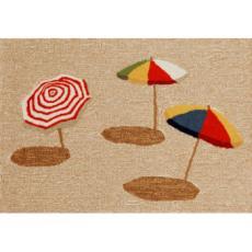 Beach Umbrella Indoor Outdoor Rug