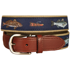Saltwater Fish and Flies Belt