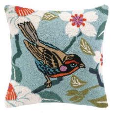 Bird and Blossom Hook Pillow