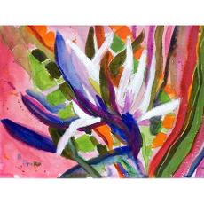 Bird of Paradise Flower Door Mat