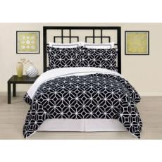 Trina Turk Trellis Black Comforter Set