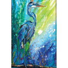 Blue Heron Wall Canvas Art