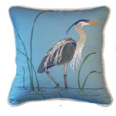 Great Blue Heron Pillow