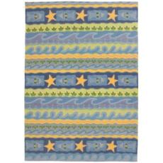Blue Waves Rug in 3 Sizes