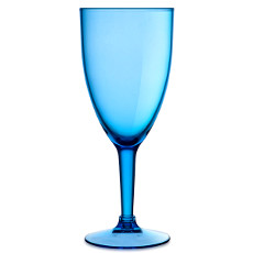 Acrylic Wine Glasses - Blue set of 6