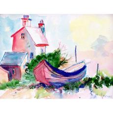 Boat And House Door Mat