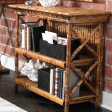 Coastal Bamboo Bookcase