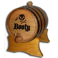 Pirate Booty Oak Barrel