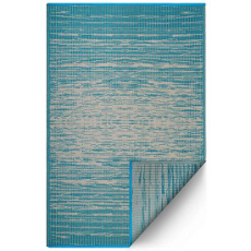 Brooklyn Teal Indoor Outdoor Rug