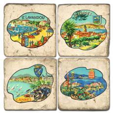 Famous Beach Coasters