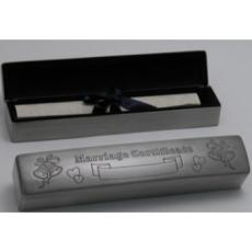 Wedding Certificate Box
