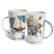 Coastal Impressions Mug Set Of 2
