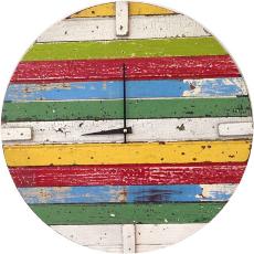 Coastal Barnwood Clock