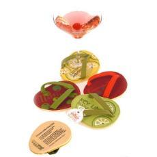 Cocktail Party Flip Flop Coasters