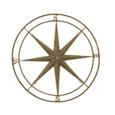 Compass Metal Art