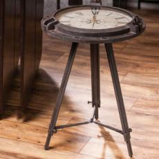 Compass Clock Table