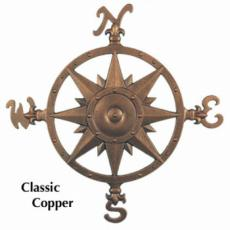 Compass Outdoor Wall Decor