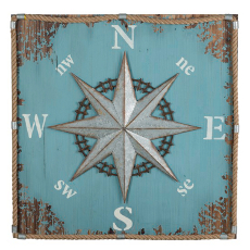 Compass Wall Hanging