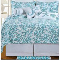 Cora Blue Bedding