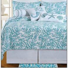 Cora Blue Bedding