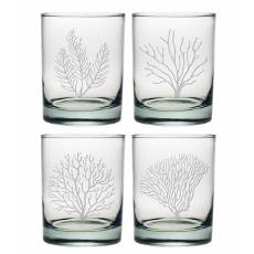 Coral Assortment Dor Glass Set