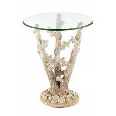 Sealife Coral Reef Accent Table