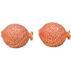 Coral Fish Salt & Pepper Shaker Set