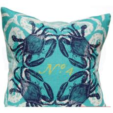 Crab Pillow - Ocean