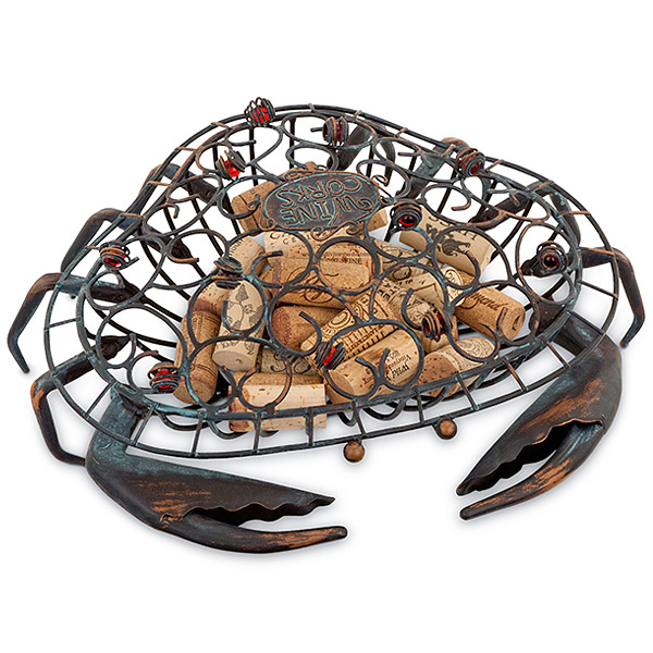 Crab Wine Cork Cage