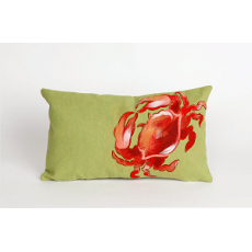 Crab Red Oblong Indoor Outdoor Pillow