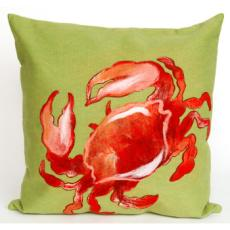 Crab Red Indoor Outdoor Pillow