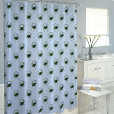 Female Blue Crab Shower Curtain