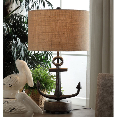 Warf Anchor Table Lamp