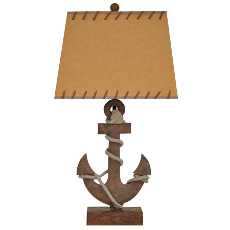 "Anchor Table Lamp 26""Ht"
