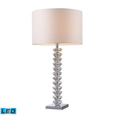Modena Solid Clear Crystal Led Table Lamp