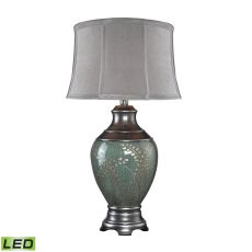 Biltmore Westvale Led Table Lamp In Handpainted Pinery Green Finish