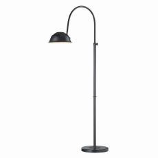 Merriston Floor Lamp In Oil Rubbed Bronze With Marble Base
