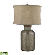 Belholt Mercury Glass Led Table Lamp