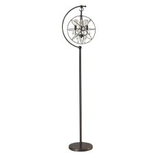 Restoration Globe Floor Lamp In Oil Rubbed Bronze