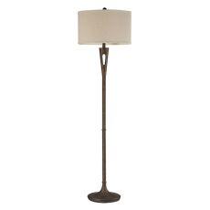 Martcliff Floor Lamp In Burnished Bronze