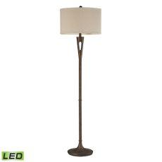 Martcliff Led Floor Lamp In Burnished Bronze