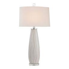 Andover Ceramic Table Lamp In Washington White