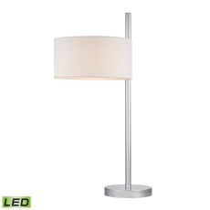 Attwood Led Table Lamp In Polished Nickel