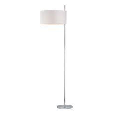 Attwood Floor Lamp In Polished Nickel