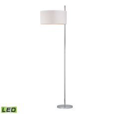 Attwood Led Floor Lamp In Polished Nickel