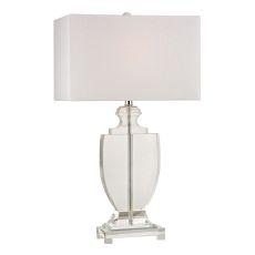 Avonmead Solid Clear Crystal Table Lamp