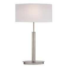 Port Elizabeth Table Lamp In Satin Nickel