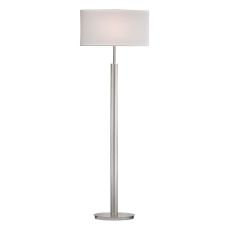 Port Elizabeth Floor Lamp In Satin Nickel